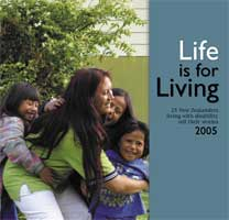 Cover of Life is for living