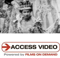 Cover of Access Video Queen Elizabeth's coronation