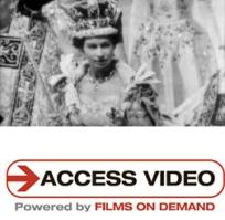 Cover of Access Video Queen Elizabeth's coronation