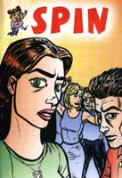 cover of Spin by Dylan Horrocks