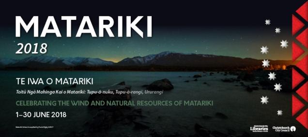 Matariki promo image 2018