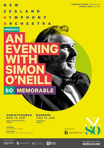 An evening with Simon O'Neill poster image