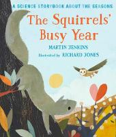Cover of The squirrel's busy year