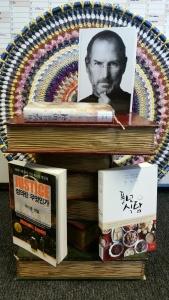 Photo of korean book display