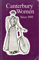 Cover of Canterbury women since 1893