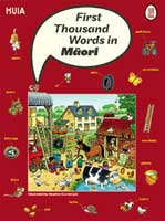 Cover of First Thousand Words in Māori