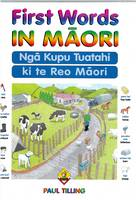 Cover of First Words in Māori