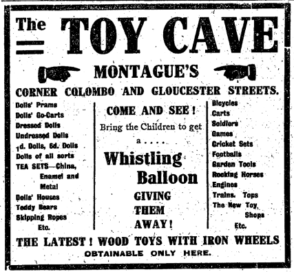 Ad from 1909