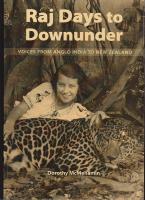 Cover of Raj days downunder